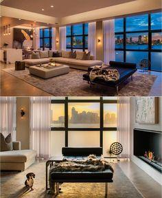 IMG interior design for Fredrik Eklund's Tribeca apt