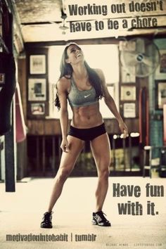 This is why my husband and I work out together and he trains me! It's so much more fun