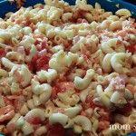 Macaroni Pasta Salad Recipe! Great for a BBQ side dish!