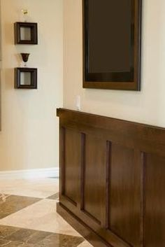My favorite wainscoting style for Manland.