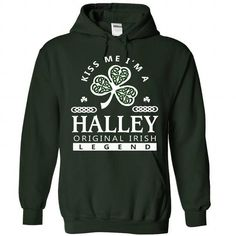 HALLEY st patrick day T Shirts, Hoodies. Get it here ==► https://www.sunfrog.com/Camping/HALLEY-Forest-85825682-Hoodie.html?41382