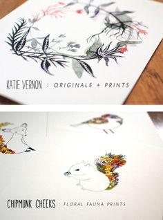 shops - katie vernon art + illustration
