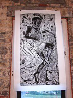 Carlye's large woodcut