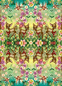 Catalina Estrada Bambi print