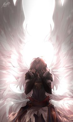 Lucifer The Voidwing Rage Of Bahamut Wiki Fandom Lucifer Granblue Fantasy Wiki . Anime Angel, Ange Anime, Anime Demon, Dark Anime Guys, Anime Love, Anime Fantasy, Fantasy Art, Fantasy Characters, Anime Characters