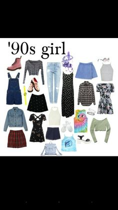 Early to mid 90's teen fashion.  G;)