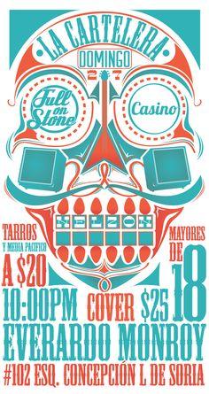 Posters and flyers by Luis Preciado