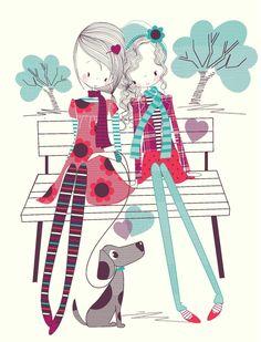 Autumn Girls - Wendy Burns