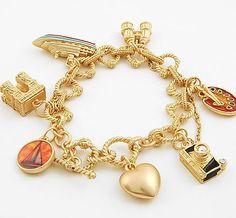 Travel Charm Bracelet...$25.95