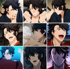 Anime Guys, Manga Anime, Anime Art, Character Reference Sheet, Mutsunokami Yoshiyuki, Anime Love Story, Fan Service, Manga Pages, Cute Anime Couples