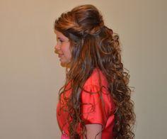 long hair style