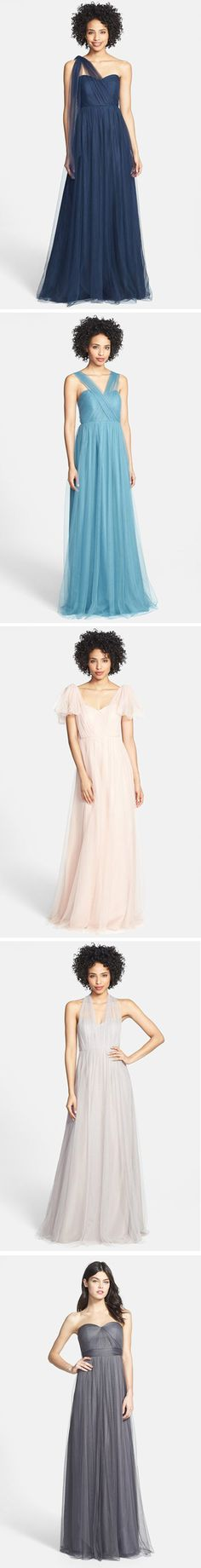 Jenny Yoo 'Annabelle'  convertible bridesmaid dress, over 18 different ways to tie