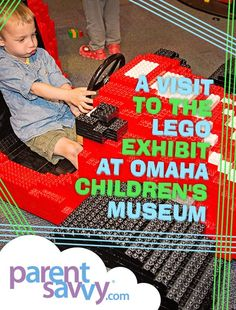 A Visit to the LEGO Exhibit at Omaha Children's Museum | ParentSavvy