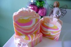 Pink Lemonade Artisan Cold Process Soap by by SweetSmellingAroma, $6.99