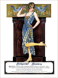 ✿ Holeproof Hosiery by newmexico51, via Flickr ✿