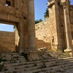 Jerash ruinas de Jordania - una vez una gran ciudad romana5
