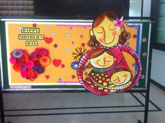 Art ,Craft ideas and bulletin boards for elementary schools: Mother's day bulletin board
