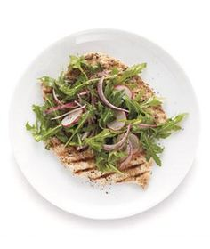 Chicken Milanese With Arugula Salad | RealSimple.com