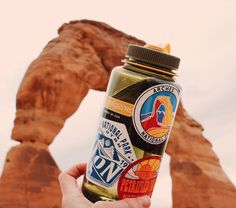 Our kind of fashion: When your bottle matches the magnificent world around you.