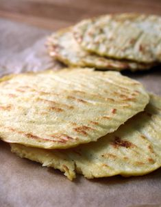 Gluten-free lunch: revolutionized. Check out these simple coconut flour sandwich flatbreads.