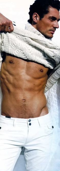 David Gandy stripping off at the beach, nothing better :)