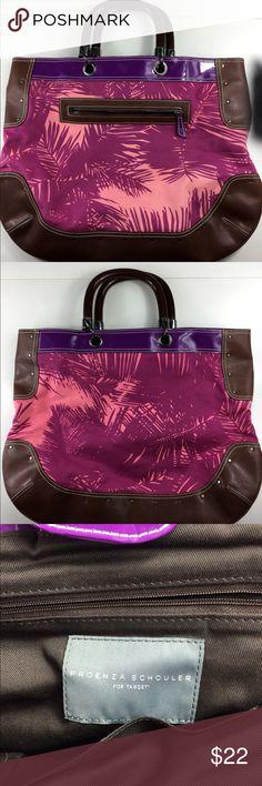 Proenza Schouler for Target Floral bag Excellent condition  Clean. Zipper outside pocket Length 19.5 Width 1 Height 16 Strap Drop 4.5 Proenza Schouler for Target Bags Satchels