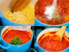Homemade Marinara Sauce is quick and easy. You can make a memorable Italian Marinara with just a handful of key ingredients. This pasta sauce is a keeper. Marinara Recipe Easy, Homemade Marinara, Salsa Marinara Casera, Marinara Sauce, Dutch Recipes, Beef Recipes, Cooking Recipes, Italian Recipes, Marzano
