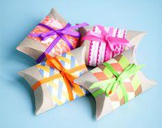 Knutselen met papier: wc rollen doosjes maken!