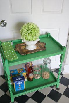 Vintage tea trolley by FURNICHIC