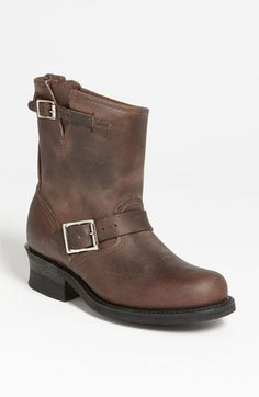 Frye Engineer 8R Boot available at #Nordstrom http://www.thefryecompany.com/engineer-8r/d/77500