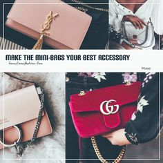 Has las mini bags tu mejor accesorio•• Make the mini bags your best accessory. – TLF♥FASHION BLOG