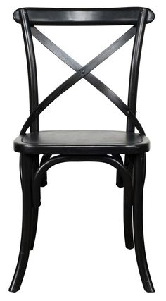 Classic Home Amara Dining Chair Black - 53004812 (2piece)
