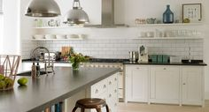 open shelves on either side of hood - Google Search