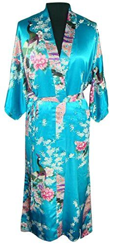 Zimaes-Men Contemporary Belted Cotton Printing Thin Spa Bathrobe