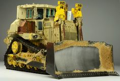 The detail on the 1/35 Scale D9R is top notch when it comes to plastic model building @ https://www.hobbylinc.com/meng-d9r-d00b1-armored-buldozer-1:35-scale-plastic-model-military-vehicle-ss002