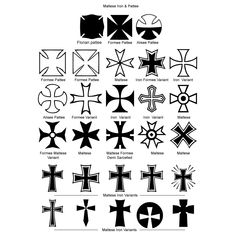 The Maltese Cross Is The Cross Symbol Associated With The Order Of