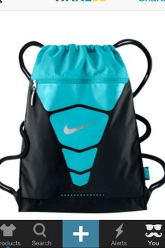 Nike string draw bag