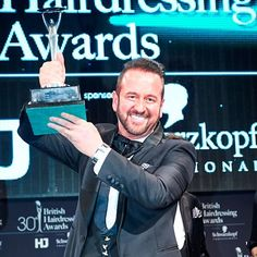 Beauty News: Mark Leeson Wins 2014 British Hairdresser of the Year