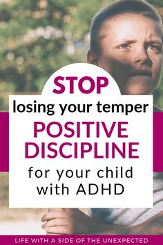 Stuck on how to discipline your child with ADHD? It can be frustrating, but there are ways to use positive discipline for behavior management. No need to lose our temper when we have these simple tips. Adhd Help, Adhd Strategies, Special Needs Mom, Positive Discipline, Child Discipline, Thing 1, Adhd Kids, Positive Reinforcement, Behavior Management
