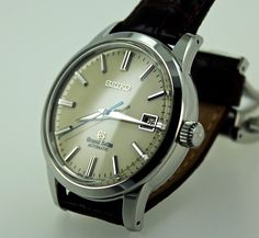 Grand Seiko  SBGR061. Japanese watch that's probably better than most Swiss watches.