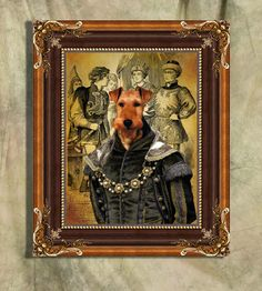 Welsh Terrier Print Art Print 11 x 14 inch by NobilityDogs on Etsy, $22.50