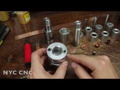 Making Copper Bullet Jackets: Machining Punching & Drawing Dies! Part 2 - YouTube