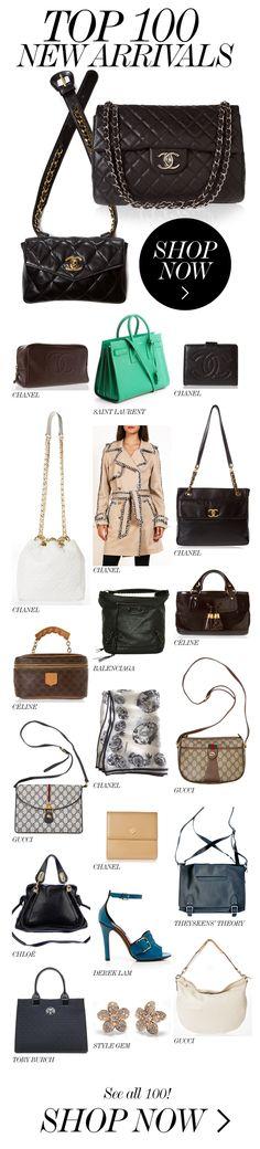 TO 100 NEW ARRIVALS  //  Chanel, Saint Laurent, Louis Vuitton, Gucci, Tory Burch...