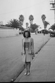 Norma Jean Baker, circa 1941