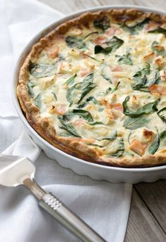 Spinat-Lachs-Quiche 8