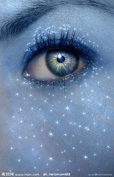 """""""..is it possible for us to have..literal starry eyes?"""""""