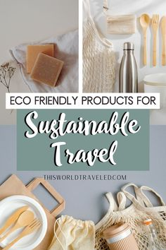 Learn how you can be a sustainable traveler and why it is so important. Discover 8 eco friendly products that are perfect for travel and helping our planet! sustainable tourism | eco friendly living | eco conscious Europe Travel Tips, Travel Hacks, Coral Bleaching, Best Flights, Responsible Travel, Sustainable Tourism, Africa Travel, Plan Your Trip, Sustainability