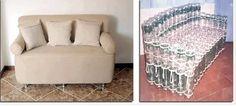 мебель из пластиковых бутылок своими руками: 2 тыс изображений найдено в Яндекс.Картинках White Side Tables, Mattress, Bed, Furniture, Home Decor, White End Tables, Decoration Home, Stream Bed, Room Decor