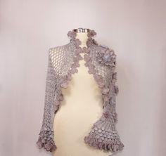 Vamos juntos / Crochet encogiéndose de hombros Shrug por lilithist