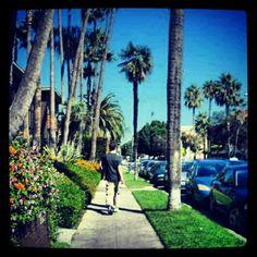 "20. Pt 2. @vj_league walking in hollywood"""